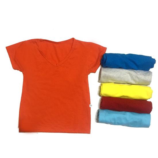 Combo sáu áo thun nhiều màu C6QATE54 cho bé trai và bé gái SZ 5 (TTR.C06.0054.04.00)