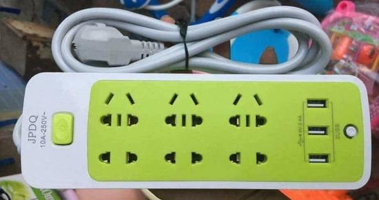 Ổ CẮM ĐIỆN CHỐNG GIẬT KÈM CHÂN CẮM USB