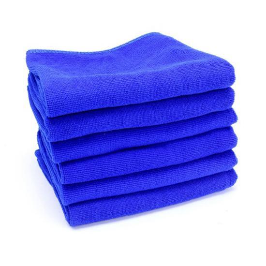 Bộ 6 khăn lau nội thất ô tô siêu thấm 30cm x 60cm
