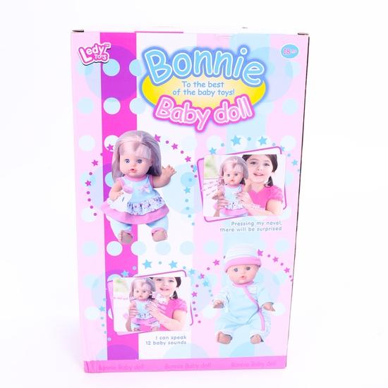 Bộ đồ chơi búp bê Bonnie cho bé trổ tài chăm sóc (Có bình sữa)