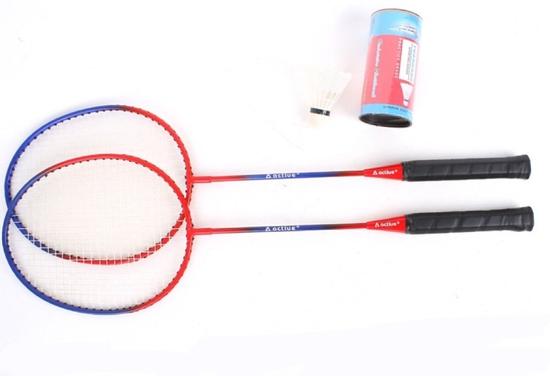 Bộ 2 vợt cầu lông và 2 quả cầu