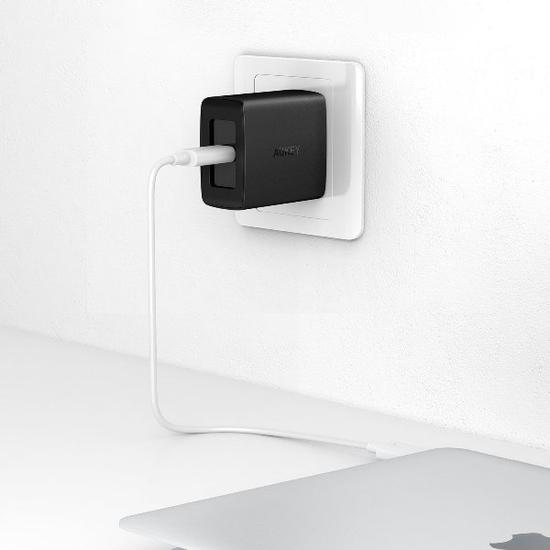 SẠC AUKEY PA-Y7 AMP PD DUO – USB-C PD 2.0 QC3.0 29W