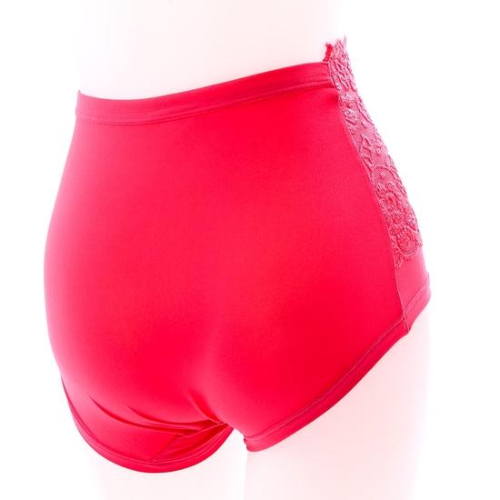 3 quần lót cạp cao gen bụng chất cotton phối ren