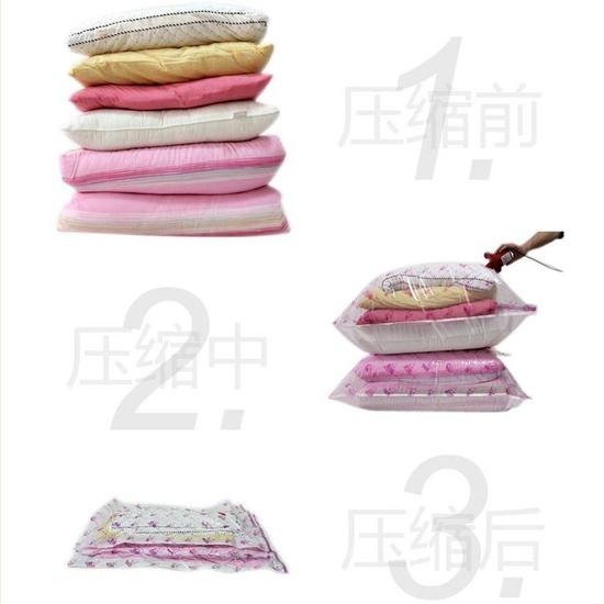 Bộ 8 túi hút chân không, kèm bơm và khăn lau