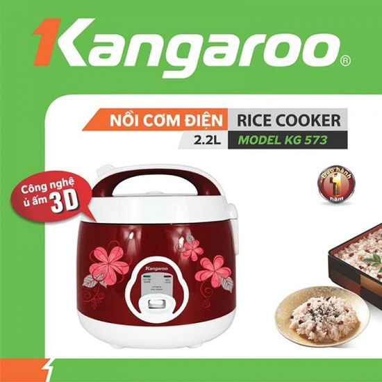 Nồi cơm điện Kangaroo KG573