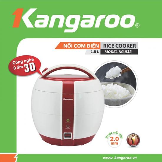 Nồi cơm điện Kangaroo KG833