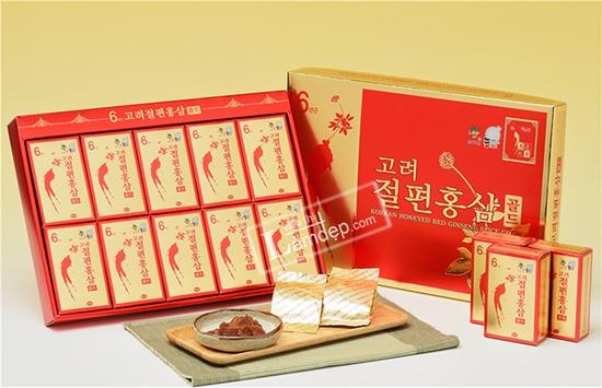 Sâm Lát Tẩm Mật Ong KGS 200g (20g X 10 Gói) – Hàn Quốc