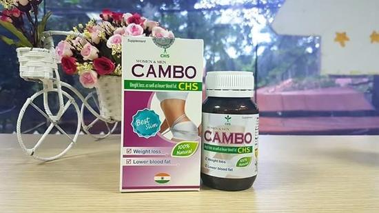 Viên uống giảm cân, hạ mỡ máu Cambo Học Viện Quân Y