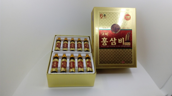 Nước Sâm Nhung Hươu KGS Hộp Quà Korean Red Ginseng B Gold