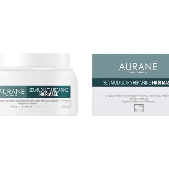 Mặt Nạ sữa chữa tóc, bảo vệ màu , chống oxy hóa aurane - HAIR MÁSK SEA MUDULTRA REPAIRING 500ML