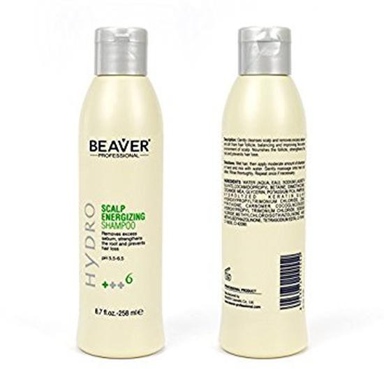 Dầu gội chống rụng và kích thích mọc tóc Beaver Scalp Energizing Shampoo Hydro +++6 (258 ml)