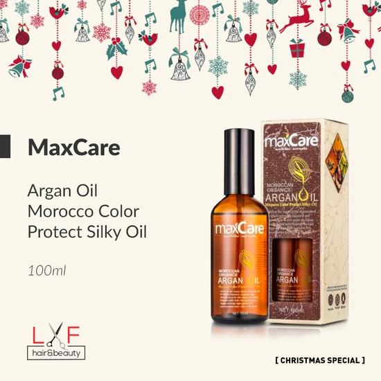 Dầu dưỡng bóng tóc tinh chất Argan Maxcare Morocco Color Protect Silky Oil 100ml