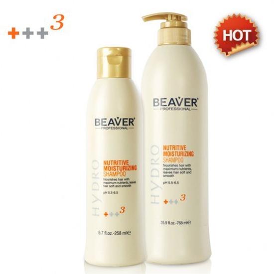Dầu gội  siêu dưỡng Beaver  Nutritive Moisturizing Shampoo +++3