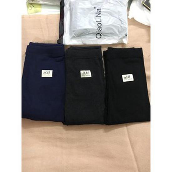 Quần legging lót lông phong cách Hàn Quốc