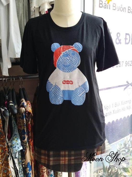 Áo Thun Họa Tiết Gấu