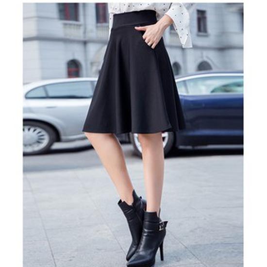 Chân váy xòe 2 túi thời trang sành điệu