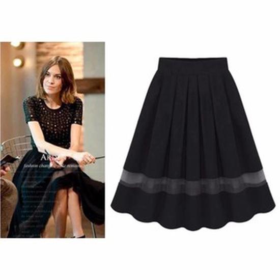 Chân váy xòe Hollywood thời trang