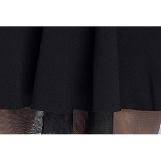 Chân váy phối ren thời trang cách điệu