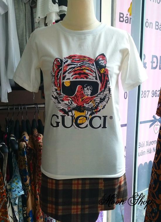 Áo Thun Họa Tiết Hổ Gucci