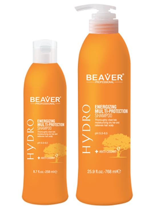 Combo Bộ dầu gội xả nuôi dưỡng và giữ màu tóc nhuộm Beaver Hydro Energizing Multi-Protection