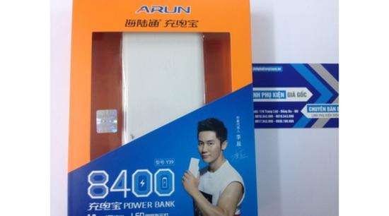 Pin sạc dự phòng Arun 8400mAh chính hãng