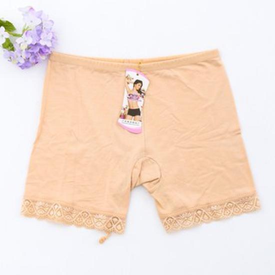 Combo 2 quần đùi cotton mặc trong váy phối ren (Dưới 50kg)