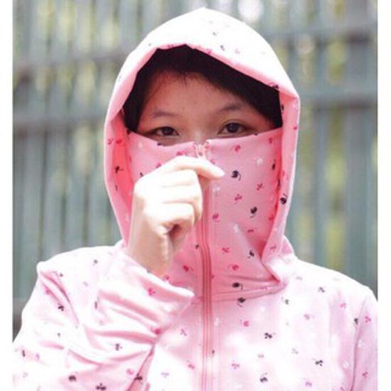 Áo chống nắng che mặt IN HOA