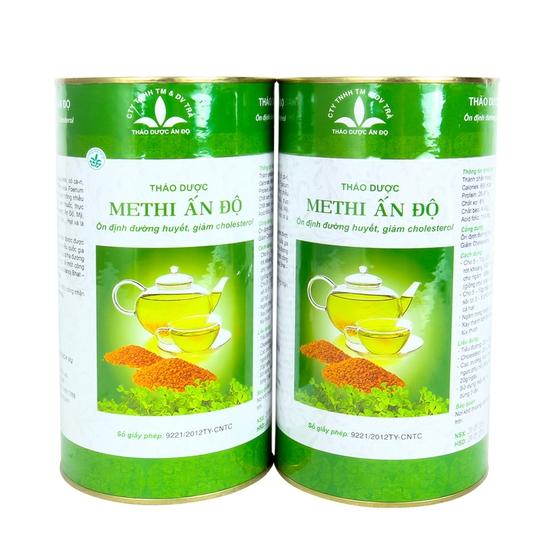 02 hộp hạt methi Ấn Độ tốt cho người tiểu đường