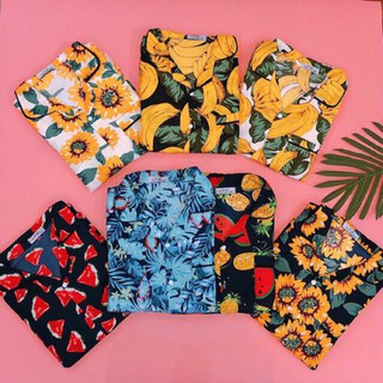 Bộ quần áo HOA QUẢ cho mùa hè sôi động