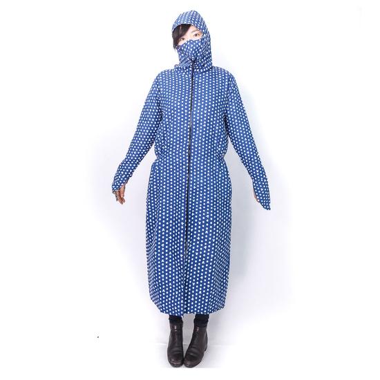 Váy chống nắng toàn thân mặc 2 mặt kèm khẩu trang