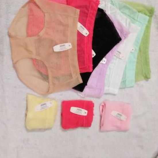 10 quần lót ren thanh lý dưới 60kg vừa - kèm quà tặng
