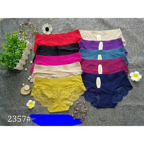 10 quần lót đúc pha ren