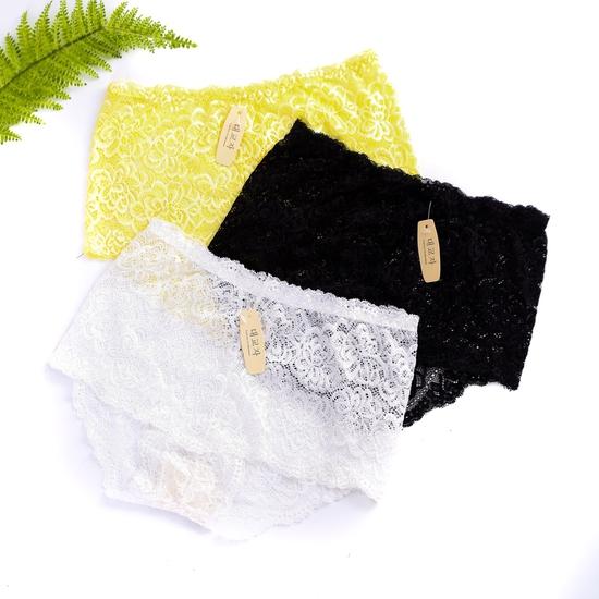 Combo 03 quần lót ren mặc trong váy- hàng VN