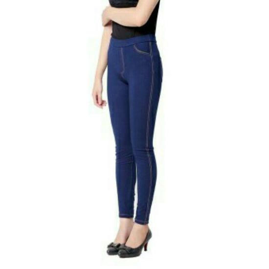 Quần Legging giả Jeans (Xanh)