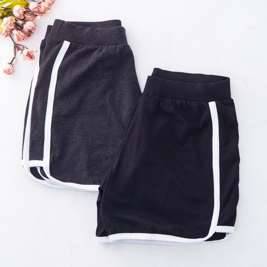 02 quần sooc nữ chất cotton thoáng mát - hàng VN