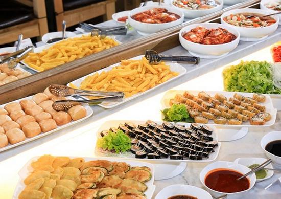 Buffet nướng & lẩu Hàn Quốc thượng hạng NH Sariwon