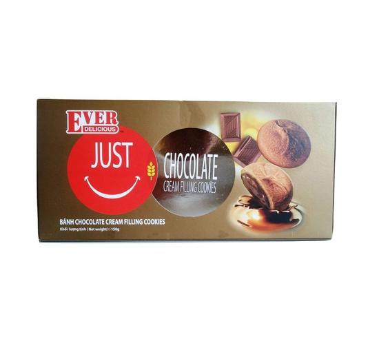 Combo 3 bánh Just U Chocolate hộp 150g/gói