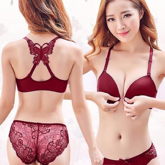 Bộ Đồ Lót Chéo Bướm Sexy Hàng Thái Lan size 36