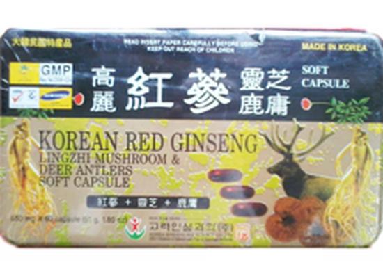 Viên đạm sâm nhung linh chi Hàn Quốc Red Gingseng