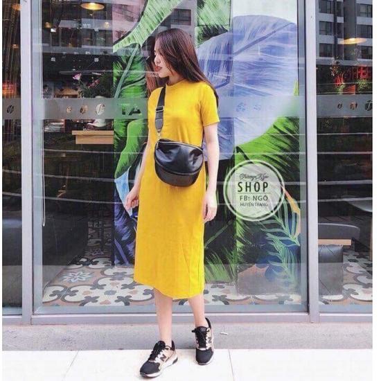 Váy Suông Maxi Cotton Cực Đẹp