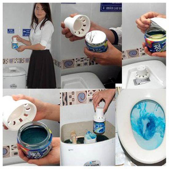 Chai tẩy thả bồn cầu siêu sạch Hàn Quốc