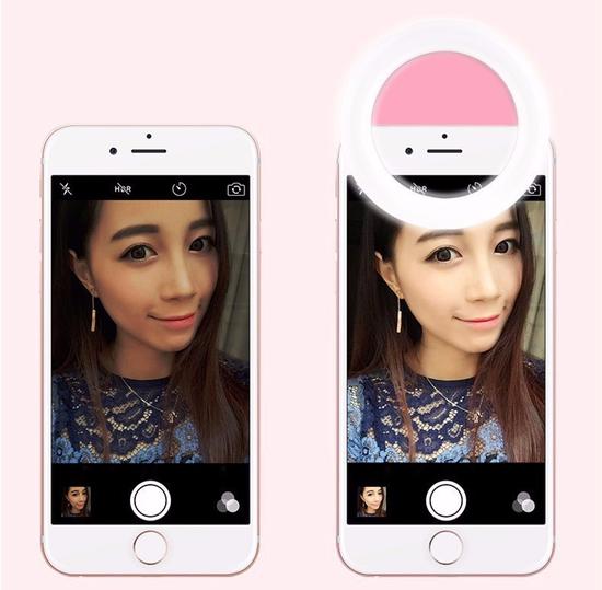 Đèn selfie Ring light cho điện thoại TẶNG KÈM DÂY SẠC hàng chuẩn