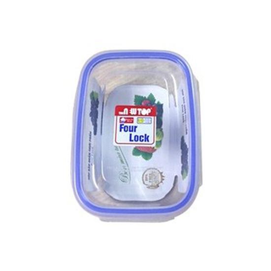 Bộ 3 hộp đựng thực phẩm Four Lock 2508