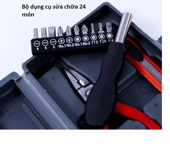 Bộ dụng cụ sửa chữa 24 món