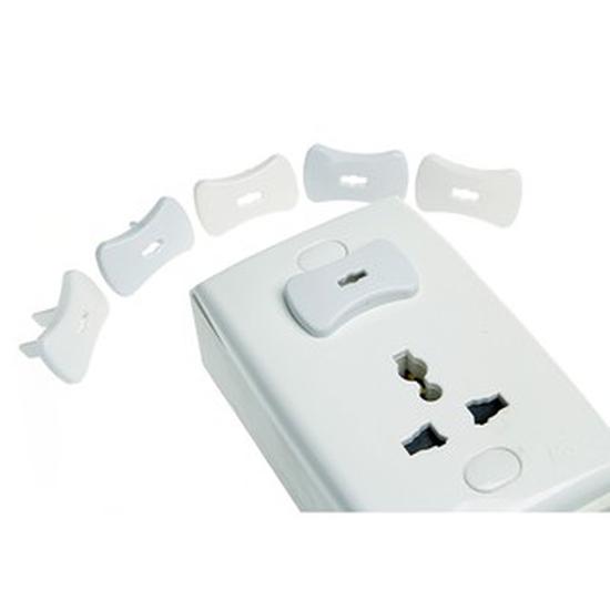 Combo 2 vỉ bịt ổ điện (12 bịt ổ điện+2 mở khoá)