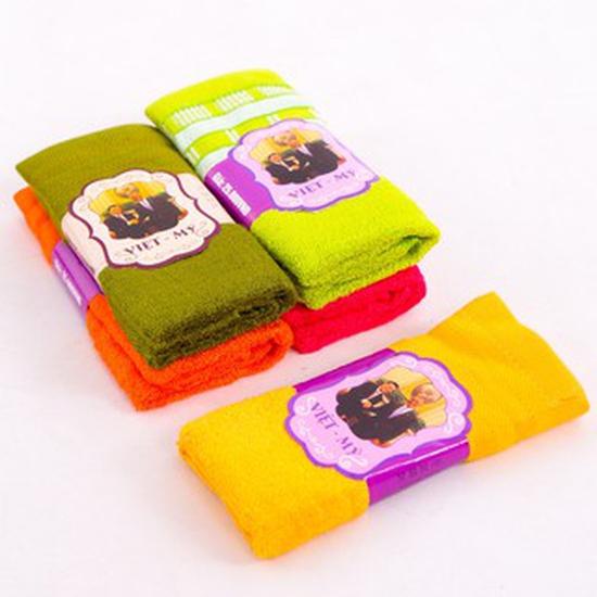 Khăn mặt việt mỹ 100% cotton an toàn cho da