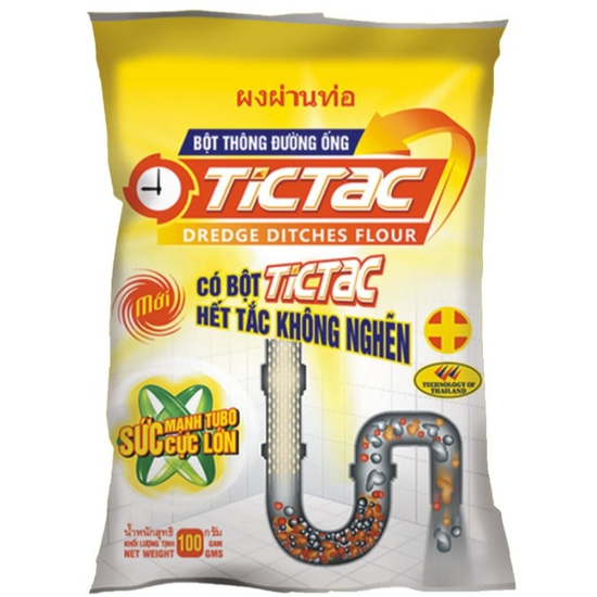 Bột thông tắc đường ống TICTAC