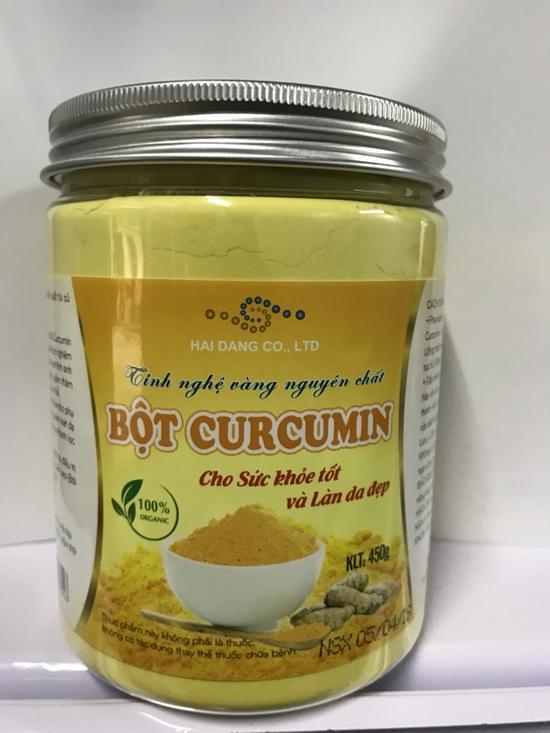 Tinh nghề vàng nguyên chất Curcumin 450gr