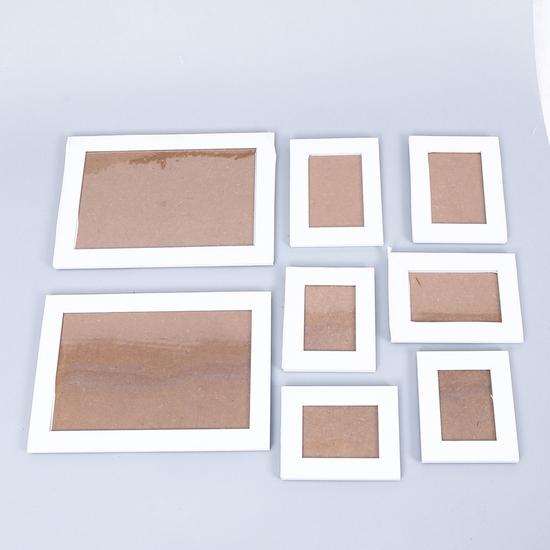 Bộ 8 khung ảnh treo tường nhiều kích cỡ