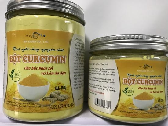Tinh nghề vàng nguyên chất Curcumin 250gr